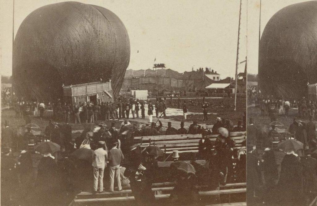 Il Gigante, il pallone ideato da Nadar