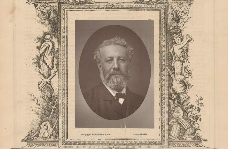 Ritratto di Jules Verne a opera di Nadar