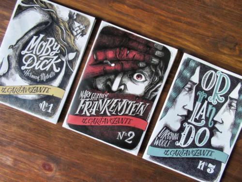 Tre Cartavolanti disponibili in libreria